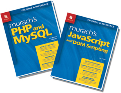 PHP and JavaScript books